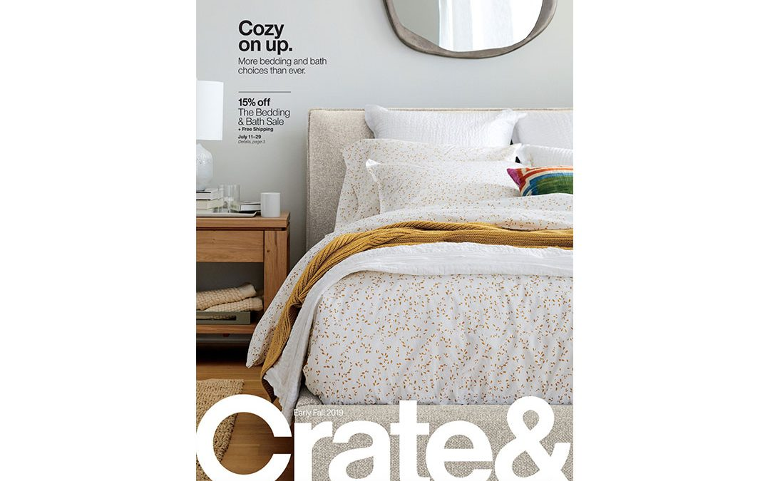 Crate & Barrel – Early Fall 2019